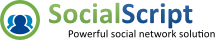 SocialScript - Powerful Social Network Software